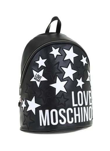 Love Moschino Sırt Çantası Siyah
